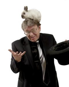 Magician Rick Anderson